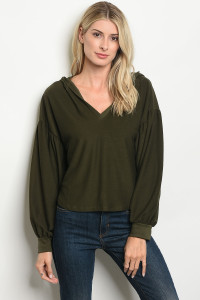 S17-12-3-T3052 OLIVE TOP 3-2