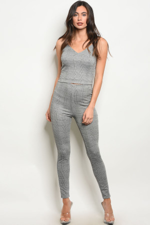 C38-A-1-P11371 GREY CHECKERS PANTS 2-3-2