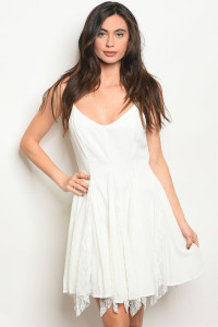 S18-9-3-D4353 OFF WHITE DRESS 2-2-4