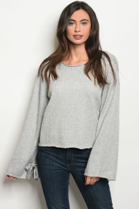 S15-10-2-S0062 GREY SWEATER 3-2-1