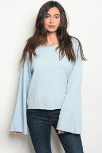 S18-9-3-S0062 BLUE SWEATER 4-2-1