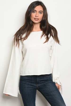 S17-10-2-S0062 IVORY SWEATER 3-2-1