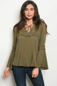 S18-8-6-T385001 OLIVE TOP 1-2-2-1