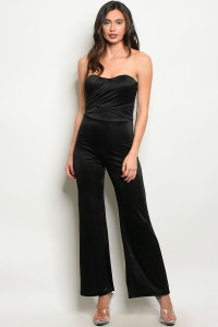 C89-A-1-J3152 BLACK JUMPSUIT 1-1-1