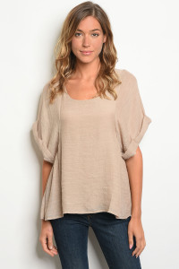 S13-8-2-T5559 TAUPE TOP 2-2-2