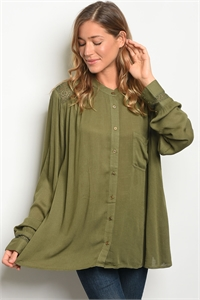 S13-7-4-T6031 OLIVE TOP 2-2-2