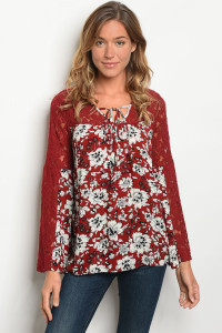 S18-11-2-T6063 BURGUNDY CREAM TOP 2-2