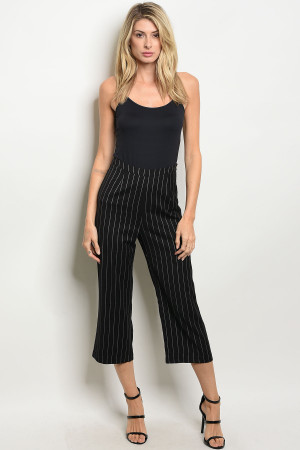 S19-11-4-P1270006 BLACK GRAY STRIPES PANTS 1-2-4