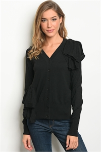 S18-3-3-S1243 BLACK SWEATER 3-2-1