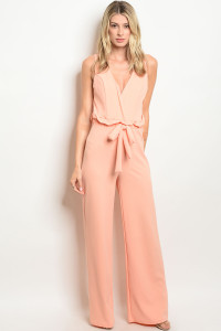 C11-A-5-J4472 PEACH JUMPSUIT 2-2-2