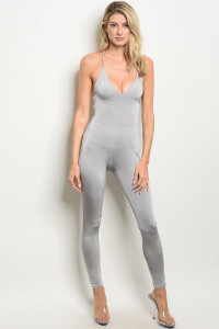 C99-A-7-J1318 GRAY JUMPSUIT 3-2-1