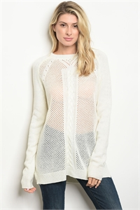 112-6-1-S63691 IVORY SWEATER 2-2-2