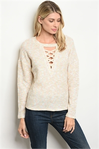 S3-10-5-T32366 IVORY MULTY TOP 2-2-2
