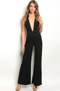 C68-A-5-J10200 BLACK JUMPSUIT 3-2-1