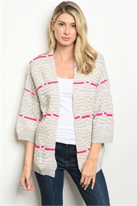 S8-12-5-S8032 CREAM MAGENTA SWEATER 3-3