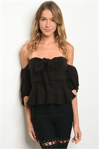 S14-12-3-NA-T4437 BLACK OFF SHOULDER TOP 5-1