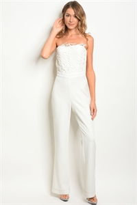 S9-5-2-NA-J4750 WHITE LACE JUMPSUIT 3-2-1