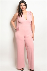 C9-A-5-J4429X BLUSH PLUS SIZE JUMPSUIT 2-2-2