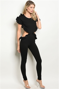 C47-A-4-J10203 BLACK JUMPSUIT 2-2-2