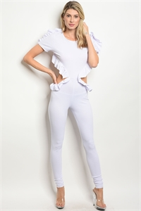 C65-A-4-J10203 WHITE JUMPSUIT 2-2-2