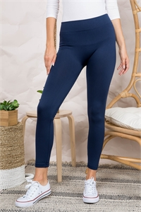 S20-2-2-FAB11802 NAVY LEGGINGS / 10PCS