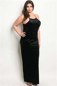 C39-A-1-D9636X BLACK SWAY PLUS SIZE DRESS 2-2-2