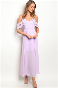 S13-1-2-D2194 LAVENDER DRESS 2-2-2