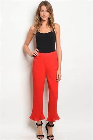 136-2-5-P71809 RED PANTS 4-1-1