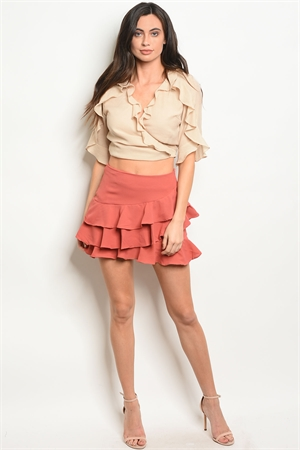 S18-6-3-S50631 EARTH SKIRT 3-2-1  ***TOP NOT INCLUDED***