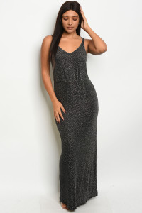 S23-10-1-D9904 SILVER BLACK DRESS 2-2-2  ***WARNING: California Proposition 65***