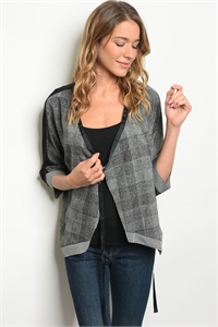 125-1-1-T9025 GRAY BLACK TOP 2-2-2