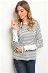 C60-A-6-T1158 GRAY WHITE TOP 2-2-2