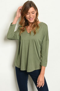 S17-11-1-T2430 OLIVE TOP 1-2-2-1