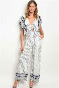 S10-11-1-J57063 OFF WHITE NAVY JUMPSUIT 2-2-2