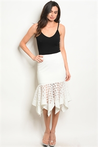 S9-3-1-S40538 OFF WHITE SKIRT 2-2-2