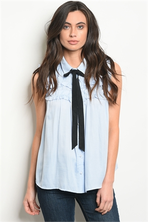 S21-5-1-T1488 BLUE BLACK TOP 2-2-2