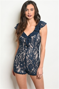 S17-9-6-NA-R73968 NAVY NUDE ROMPER 2-2-2