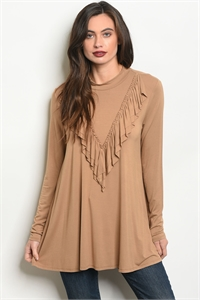 C21-B-6-T8010 TAUPE TOP 2-2-2