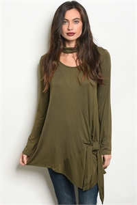 C17-A-5-T7948 OLIVE TOP 2-2-2
