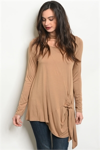 C11-A-3-T7948 TAUPE TOP 2-2-2