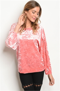 S14-9-6-T709211 CORAL TOP 1-2-3
