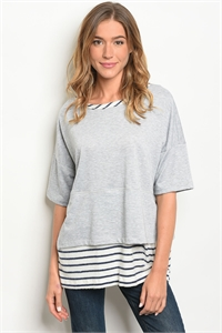S17-8-6-T7812072 GRAY NAVY TOP 2-2-2
