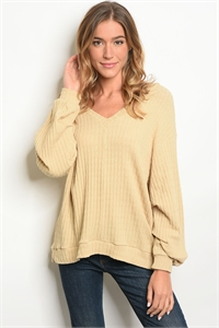 S18-8-6-T711168 TAUPE TOP 2-2-2