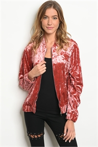 S18-7-3-J76165 EARTH VELVET JACKET 2-1-2