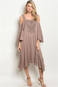 S12-10-5-D15162 TAUPE DRESS 2-2-2