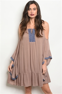 S2-4-1-D15160 TAUPE DRESS 2-2-2