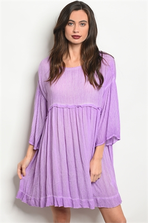 126-3-1-D15496 LAVENDER DRESS 2-2-2