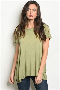 S3-9-1-T15362 OLIVE TOP 2-2-2
