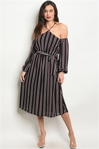 136-3-1-D14906 BLACK WINE DRESS 3-2-2