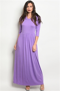 S11-5-5-D5185 LAVENDER DRESS 2-2-2